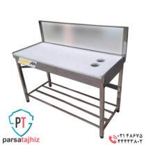 Butcher-plastic-Top-steel-workbench