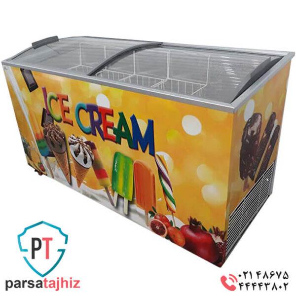 فریزر صندوقی بستنی 500 لیتری