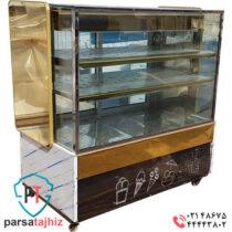 یخچال ویترینی بستنی طلایی